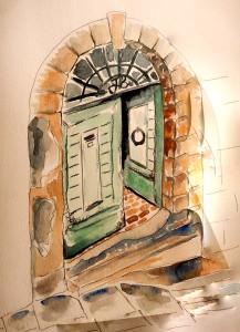 Anghiari Door